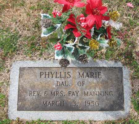 MANNING, PHYLLIS MARIE - Hamblen County, Tennessee   PHYLLIS MARIE MANNING - Tennessee Gravestone Photos