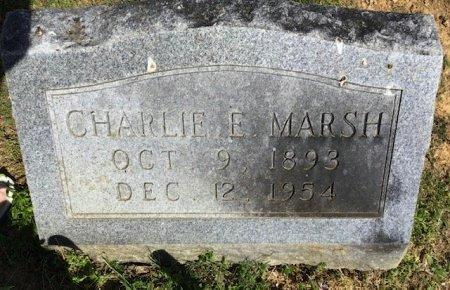MARSH, CHARLIE E. - Hamblen County, Tennessee | CHARLIE E. MARSH - Tennessee Gravestone Photos