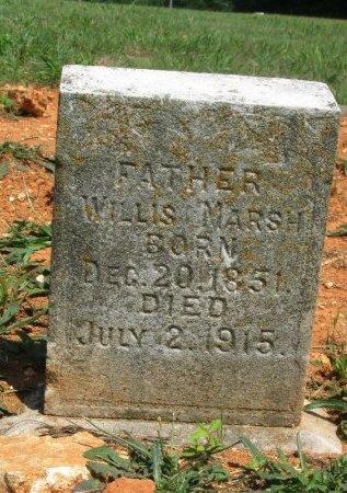 MARSH, WILLIS - Hamblen County, Tennessee   WILLIS MARSH - Tennessee Gravestone Photos