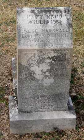 WILLIAMS MARSHALL, MARY MAUDE - Hamblen County, Tennessee | MARY MAUDE WILLIAMS MARSHALL - Tennessee Gravestone Photos
