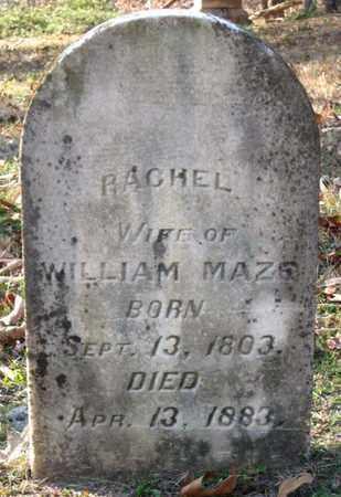 MAZE, RACHEL - Hamblen County, Tennessee | RACHEL MAZE - Tennessee Gravestone Photos