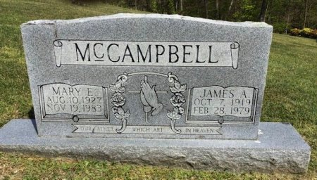 MCCAMPBELL, JAMES A. - Hamblen County, Tennessee | JAMES A. MCCAMPBELL - Tennessee Gravestone Photos