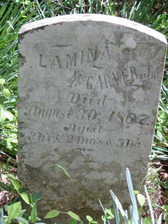 MCCARVER, LAMINA (JR.) - Hamblen County, Tennessee | LAMINA (JR.) MCCARVER - Tennessee Gravestone Photos