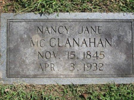 MCCLANAHAN, NANCY JANE - Hamblen County, Tennessee | NANCY JANE MCCLANAHAN - Tennessee Gravestone Photos