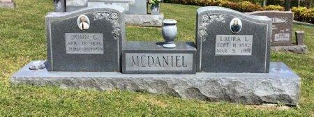 MCDANIEL, JOHN G. - Hamblen County, Tennessee | JOHN G. MCDANIEL - Tennessee Gravestone Photos