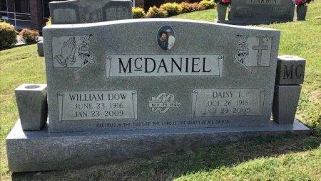 MCDANIEL, WILLLIAM DOW - Hamblen County, Tennessee | WILLLIAM DOW MCDANIEL - Tennessee Gravestone Photos