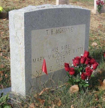 MCKINNEY, MARY MAGDELINE - Hamblen County, Tennessee | MARY MAGDELINE MCKINNEY - Tennessee Gravestone Photos
