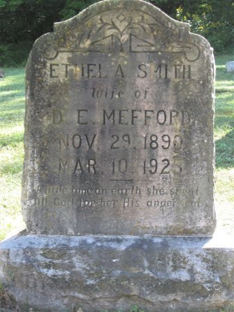 SMITH MEFFORD, ETHEL A. - Hamblen County, Tennessee | ETHEL A. SMITH MEFFORD - Tennessee Gravestone Photos