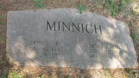 MINNICH, JAMES P. - Hamblen County, Tennessee | JAMES P. MINNICH - Tennessee Gravestone Photos
