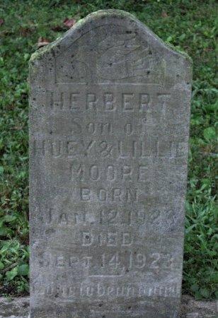 MOORE, HERBERT - Hamblen County, Tennessee   HERBERT MOORE - Tennessee Gravestone Photos