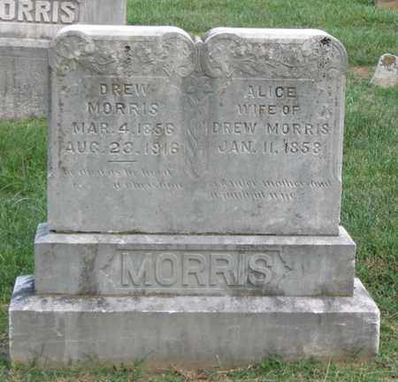 CROXDALE MORRIS, MARY ALICE - Hamblen County, Tennessee | MARY ALICE CROXDALE MORRIS - Tennessee Gravestone Photos