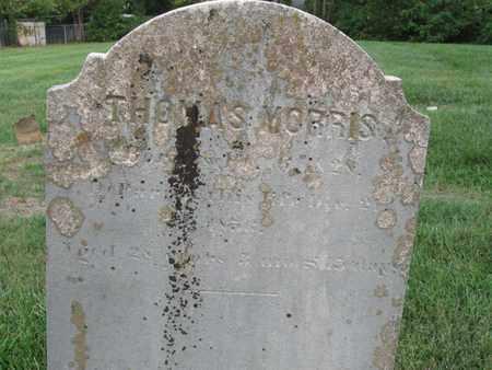 MORRIS, THOMAS (CLOSE UP) - Hamblen County, Tennessee   THOMAS (CLOSE UP) MORRIS - Tennessee Gravestone Photos