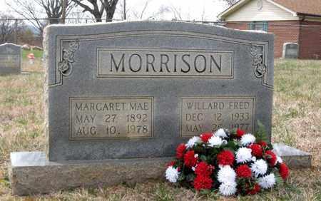 MORRISON, MARGARET MAE - Hamblen County, Tennessee | MARGARET MAE MORRISON - Tennessee Gravestone Photos