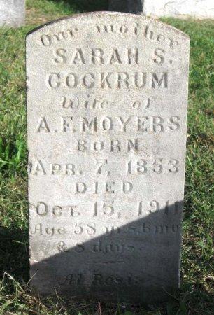 MOYERS, SARAH S. - Hamblen County, Tennessee | SARAH S. MOYERS - Tennessee Gravestone Photos