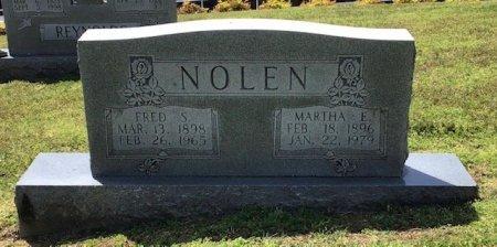 NOLEN, MARTHA E. - Hamblen County, Tennessee | MARTHA E. NOLEN - Tennessee Gravestone Photos