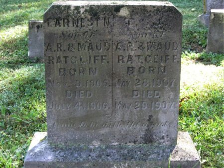 RATCLIFF, EARNEST N. - Hamblen County, Tennessee | EARNEST N. RATCLIFF - Tennessee Gravestone Photos