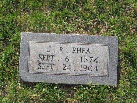 RHEA, J. R. - Hamblen County, Tennessee | J. R. RHEA - Tennessee Gravestone Photos