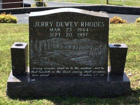 RHODES, JERRY DEWEY - Hamblen County, Tennessee | JERRY DEWEY RHODES - Tennessee Gravestone Photos