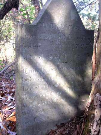 RIGGS, MARY - Hamblen County, Tennessee | MARY RIGGS - Tennessee Gravestone Photos
