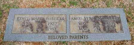 ROBERTS, AMOS VERNON - Hamblen County, Tennessee | AMOS VERNON ROBERTS - Tennessee Gravestone Photos