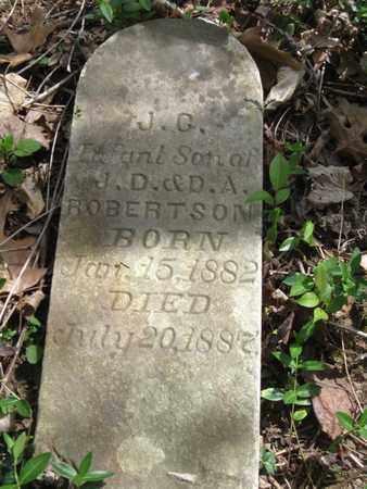 ROBERTSON, J.C. - Hamblen County, Tennessee | J.C. ROBERTSON - Tennessee Gravestone Photos