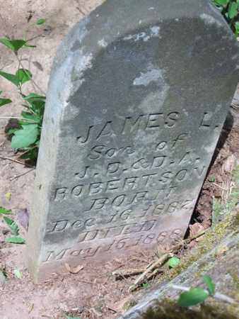 ROBERTSON, JAMES L. - Hamblen County, Tennessee   JAMES L. ROBERTSON - Tennessee Gravestone Photos