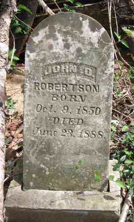 ROBERTSON, JOHN D. - Hamblen County, Tennessee | JOHN D. ROBERTSON - Tennessee Gravestone Photos