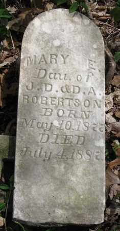 ROBERTSON, MARY E. - Hamblen County, Tennessee | MARY E. ROBERTSON - Tennessee Gravestone Photos