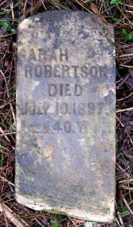 ROBERTSON, SARAH - Hamblen County, Tennessee | SARAH ROBERTSON - Tennessee Gravestone Photos