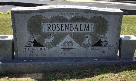 ROSENBALM, KENNETH L. - Hamblen County, Tennessee | KENNETH L. ROSENBALM - Tennessee Gravestone Photos