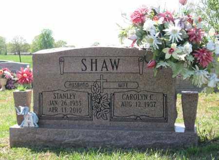 SHAW, STANLEY - Hamblen County, Tennessee | STANLEY SHAW - Tennessee Gravestone Photos