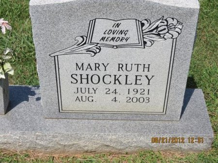SHOCKLEY, MARY RUTH - Hamblen County, Tennessee | MARY RUTH SHOCKLEY - Tennessee Gravestone Photos