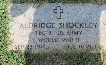SHOCKLEY (VETERAN WWII), ALDRIDGE - Hamblen County, Tennessee | ALDRIDGE SHOCKLEY (VETERAN WWII) - Tennessee Gravestone Photos