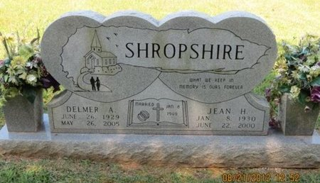 SHROPSHIRE, JEAN H. - Hamblen County, Tennessee | JEAN H. SHROPSHIRE - Tennessee Gravestone Photos