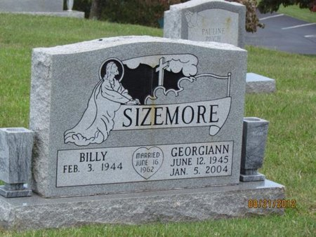 SIZEMORE, GEORGIANN - Hamblen County, Tennessee | GEORGIANN SIZEMORE - Tennessee Gravestone Photos