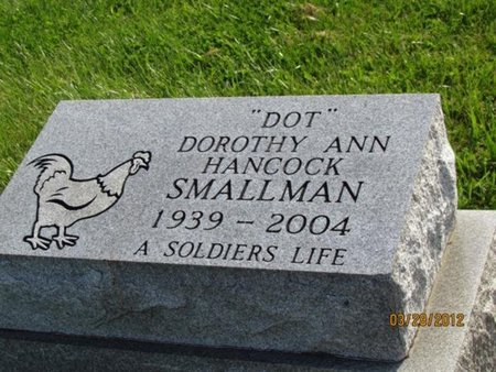 "SMALLMAN, DOROTHY ANN ""DOT"" - Hamblen County, Tennessee 