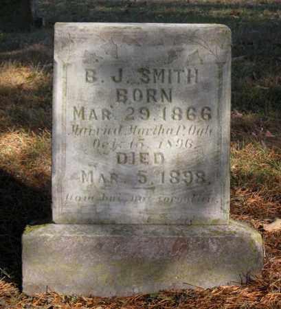 SMITH, B. J. - Hamblen County, Tennessee | B. J. SMITH - Tennessee Gravestone Photos