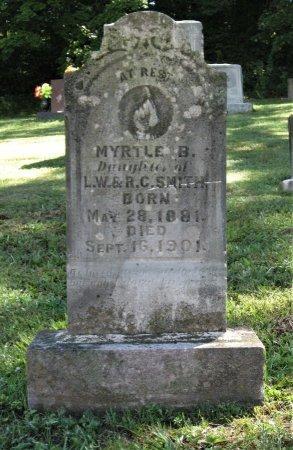SMITH, MYRTLE B. - Hamblen County, Tennessee | MYRTLE B. SMITH - Tennessee Gravestone Photos