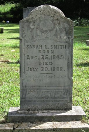 PARROTT SMITH, SARAH LETITIA - Hamblen County, Tennessee | SARAH LETITIA PARROTT SMITH - Tennessee Gravestone Photos