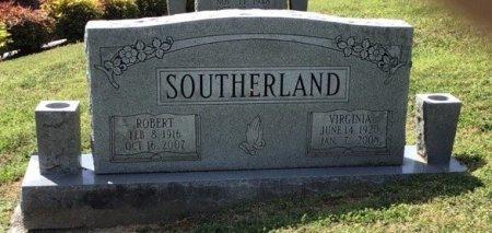 SOUTHERLAND, ROBERT A. - Hamblen County, Tennessee | ROBERT A. SOUTHERLAND - Tennessee Gravestone Photos