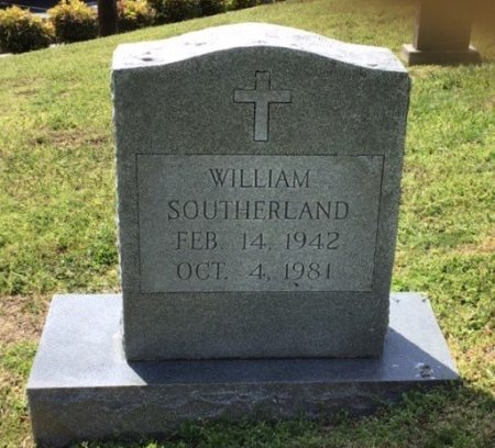 SOUTHERLAND, WILLIAM - Hamblen County, Tennessee | WILLIAM SOUTHERLAND - Tennessee Gravestone Photos