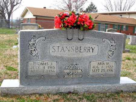 STANSBERRY, ARIA M. - Hamblen County, Tennessee | ARIA M. STANSBERRY - Tennessee Gravestone Photos