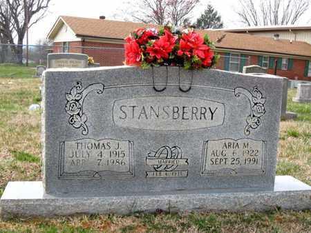 STANSBERRY, THOMAS J. - Hamblen County, Tennessee | THOMAS J. STANSBERRY - Tennessee Gravestone Photos