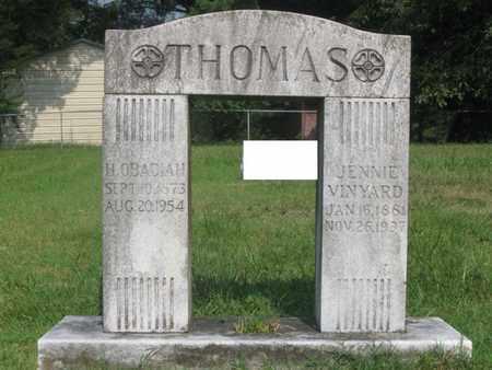 THOMAS, HENRY OBADIAH - Hamblen County, Tennessee   HENRY OBADIAH THOMAS - Tennessee Gravestone Photos