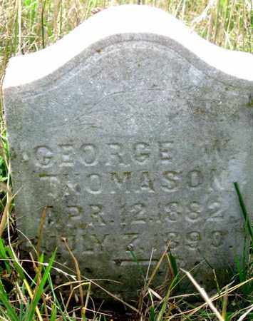 THOMASON, GEORGE WASHINGTON CONWAY - Hamblen County, Tennessee | GEORGE WASHINGTON CONWAY THOMASON - Tennessee Gravestone Photos