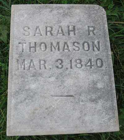 THOMASON, SARAH REBECCA - Hamblen County, Tennessee | SARAH REBECCA THOMASON - Tennessee Gravestone Photos