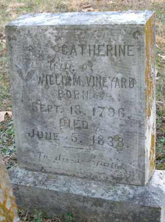 VINEYARD, CATHERINE - Hamblen County, Tennessee   CATHERINE VINEYARD - Tennessee Gravestone Photos