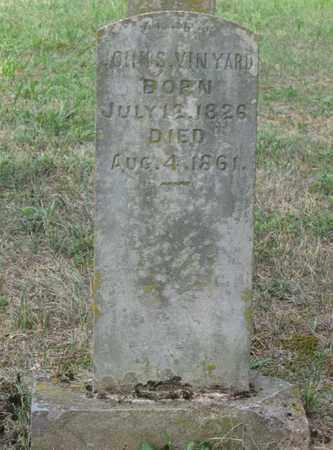 VINYARD, JOHN S. - Hamblen County, Tennessee   JOHN S. VINYARD - Tennessee Gravestone Photos