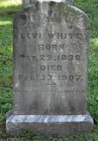 WHITE, LEVI - Hamblen County, Tennessee | LEVI WHITE - Tennessee Gravestone Photos