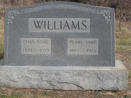 WILLIAMS, CHARLES DOAK - Hamblen County, Tennessee | CHARLES DOAK WILLIAMS - Tennessee Gravestone Photos